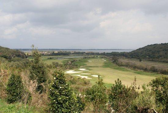 Argentario Golf Resort & Spa : panorama golf club