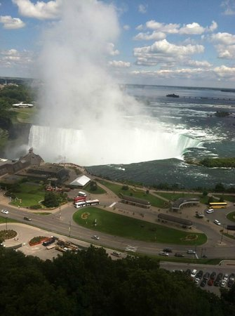 Niagara Falls Marriott Fallsview Hotel & Spa : From our room