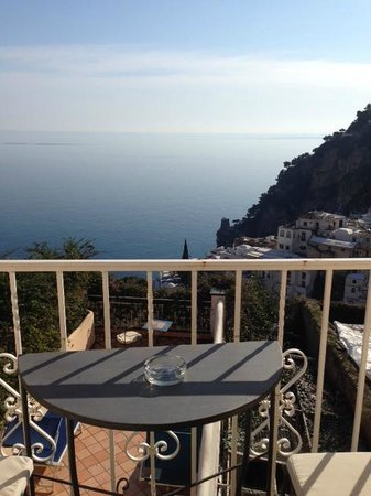 Positano Art Hotel Pasitea : view from our room