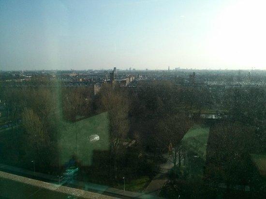 Ramada Apollo Amsterdam Centre: View of Amsterdam from room window