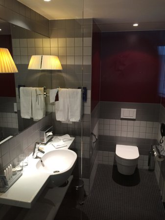 Radisson Blu Hotel, Zurich Airport: Bathroom 625