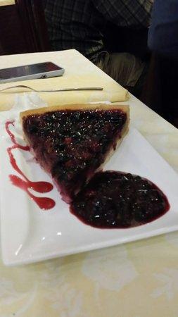 Al Lido: Torta frutti di bosco