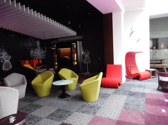 Hotel Parlament: Coffee lounge