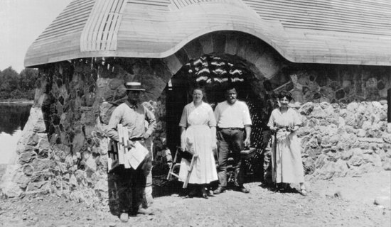 Tagalong Golf & Resort : Building the Pumphouse 1922