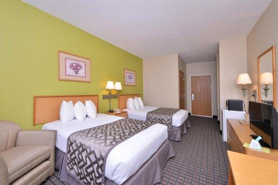 Americas Best Value Inn Geneseo: Double Beds
