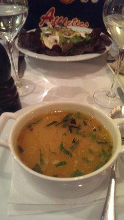 La Crema Canela : brochettes poulet, boeuf aux poivron