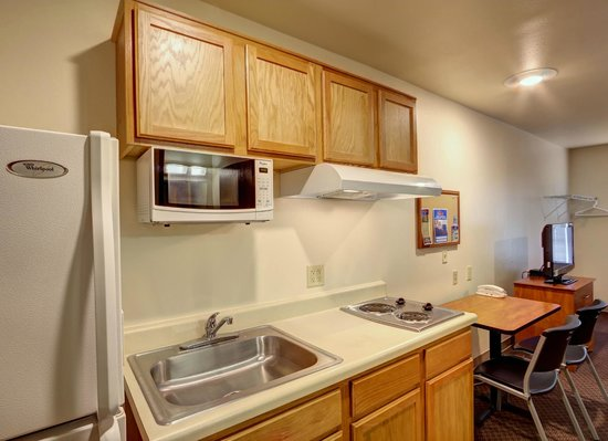 Value Place Beaumont: Modified Kitchen