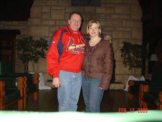 Hampton Inn Tropicana: Larry & Cindy Daniels