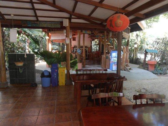 Casa Zen Guest House & Yoga Center: sala de reunionj y desayuno