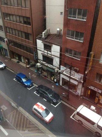 Sotetsu Fresa Inn Nihombashi-Kayabacho: Aussicht vom Zimmer