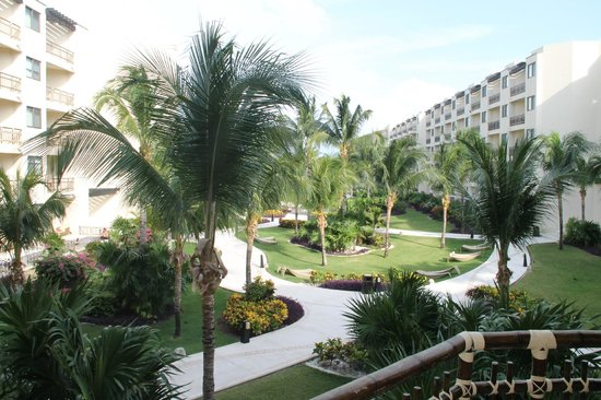 Dreams Riviera Cancun Resort & Spa: jardines