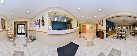Americas Best Value Inn Geneseo: Lobby (360)