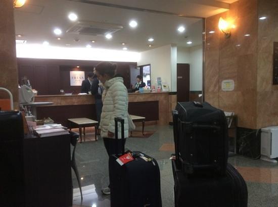 Sotetsu Fresa Inn Nihombashi-Kayabacho: Lobby