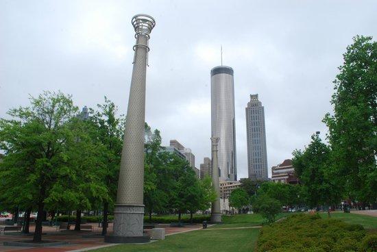 Centennial Olympic Park: panorama