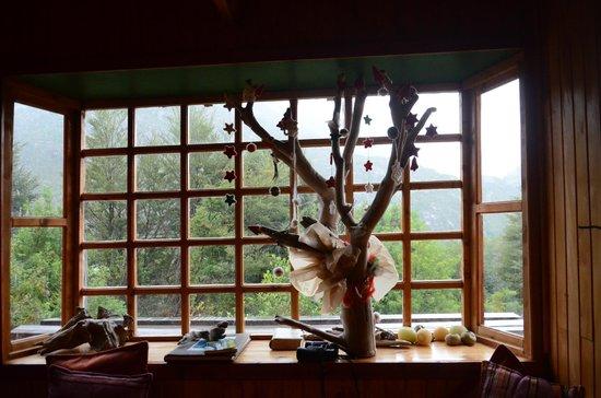 Entre Hielos Lodge: decoración