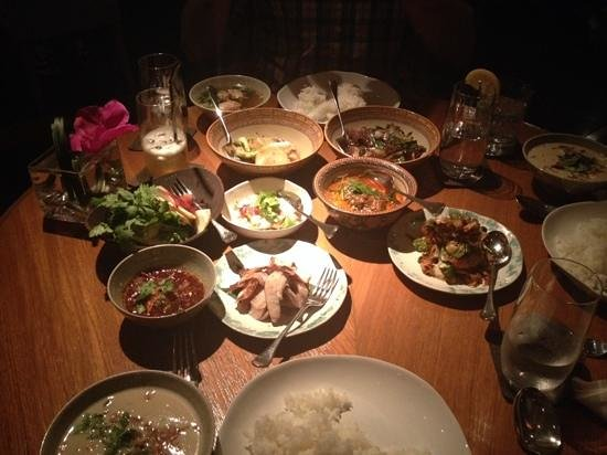 COMO Metropolitan Bangkok: shared set menu at Nahm
