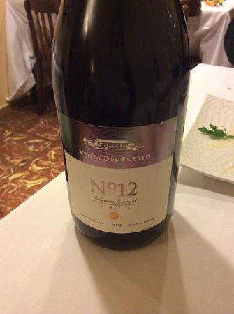 Restaurante El Encuentro: ottimo vino