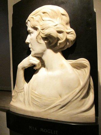 Palazzo Alberti Poja : ritratto della moglie di Fait