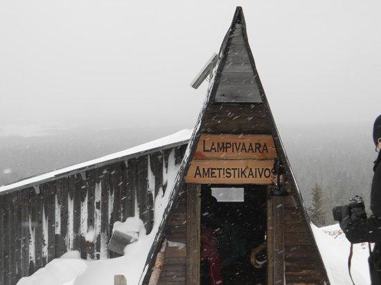 Amethyst Mine Lapland: Entrance to the mine