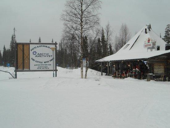 Amethyst Mine Lapland: The Mine Shop