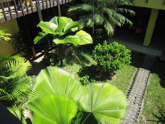 La Casa de las Flores Hotel: GIARDINO DALLA CAMERA
