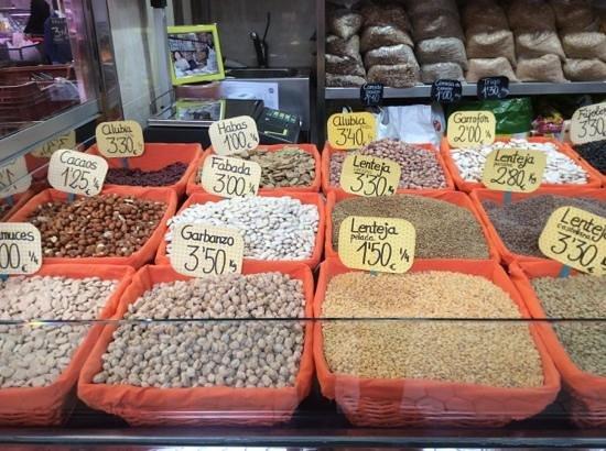 Central Market (Mercado Central) : legumi