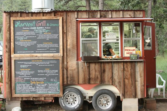 Harvest Grill & Greens at James Ranch: The food wagon where all the great food is prepared.