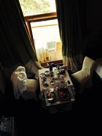 Villa Orso Grigio: la nostra colazione in camera