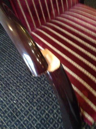 Brook Mollington Banastre Hotel & Spa: Clearly broken!
