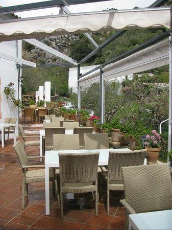 Molino del Santo: Dining Terrace
