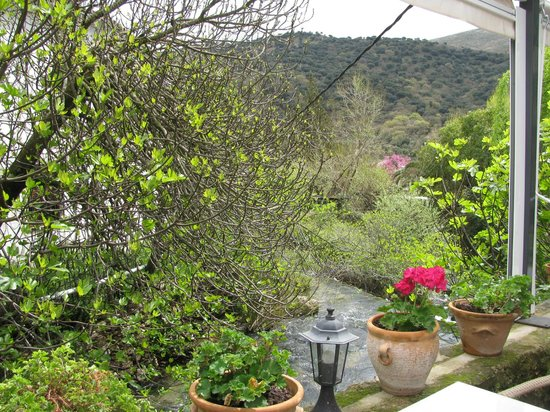 Molino del Santo: View from the terrace
