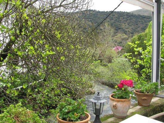 Molino del Santo : View from the terrace