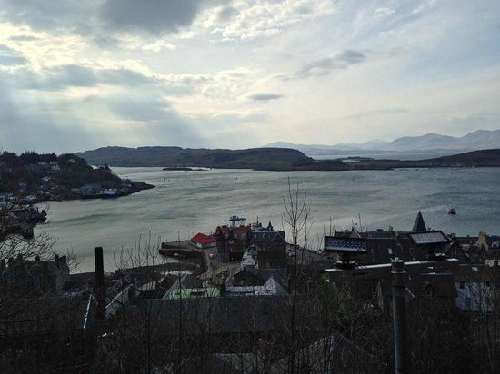 McCaig's Tower: The view out