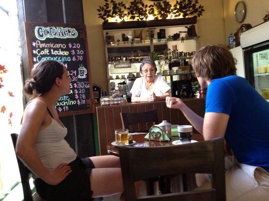 Cafe Arte: francia