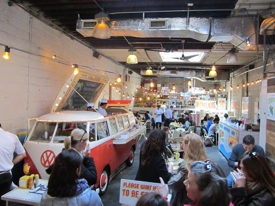 Foods of New York Tours: Tacombi with Yucatan lunch wagon