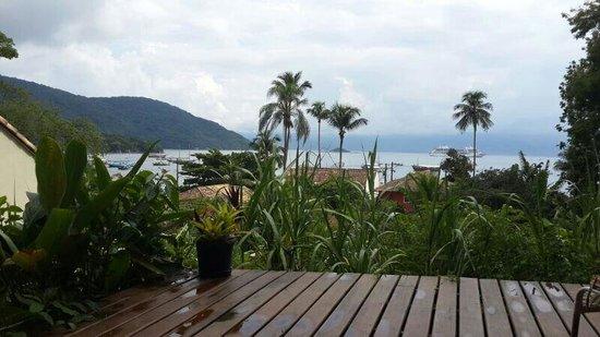 Pousada Tagomago Beach Lodge: Vista desde el restaurant