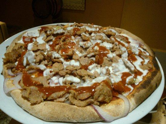 Il Rusticotto Pizzeria Spaghetteria: La pizza Kebab