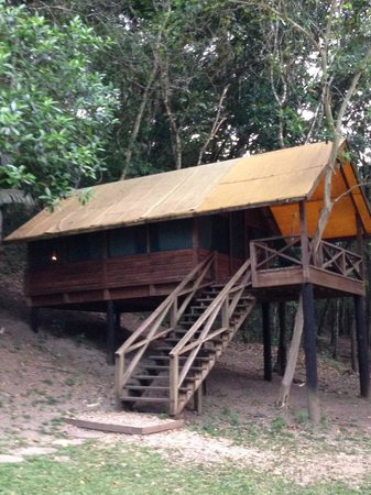 The Lodge at Chaa Creek : Our tent cabin
