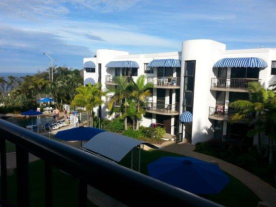 Headland Tropicana Resort : From the 3rd floor