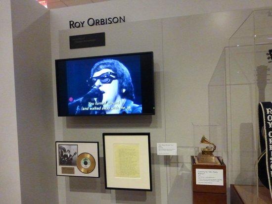 """Musical Instrument Museum: Roy Orbison exhibit in """"Artists"""" Gallery"""