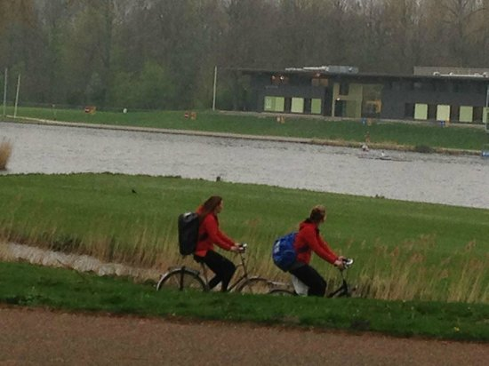 Amsterdamse Bos: People enjoy the park all year long