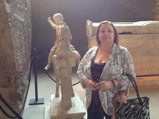 Terme di Diocleziano: escultura da Terme