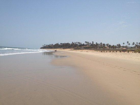 Hotel Palm Beach: The gorgeous beach