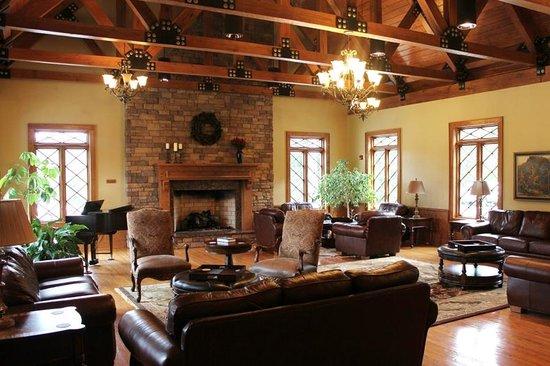 Thompson Community Center: The Fireside Room is fabulous!