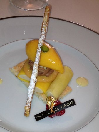 Il Lago at The Four Seasons Hotel: sweet canellonni