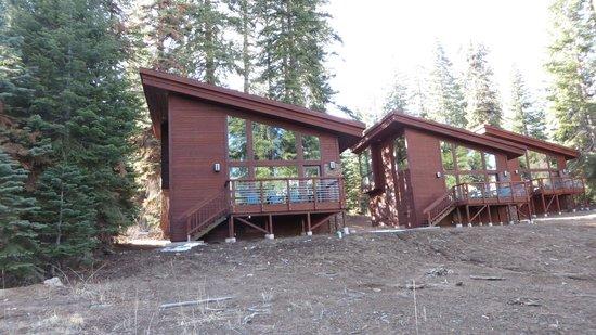 Montecito Sequoia Lodge & Summer Family Camp: Rear of cabin