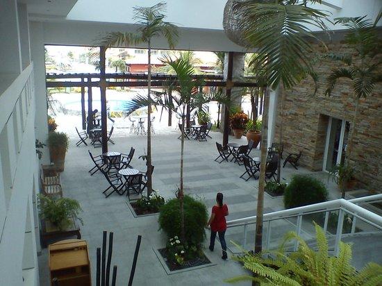 Blue Tree Park Buzios Beach Resort: Uma das entradas para o restaurante