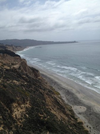 Torrey Pines Gliderport : view of the coast