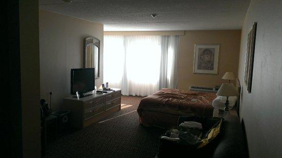 Howard Johnson Hotel by the Falls Niagara Falls: Spacious room