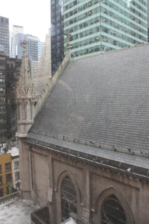 Broadway at Times Square Hotel: ST Mary from the room